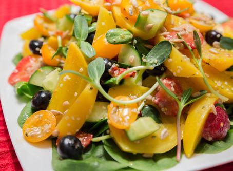 Golden Beet & Berry Salad