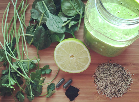 Heavy Metal, Green Detox Smoothie