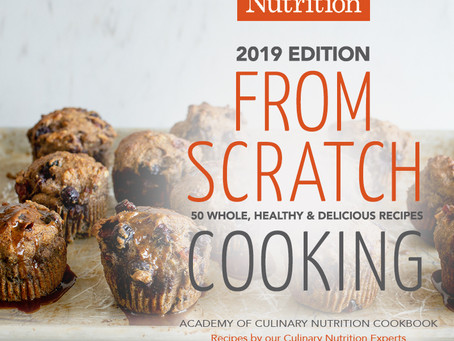 "The 2019 ""From Scratch Cooking"" Digital Cookbook!"