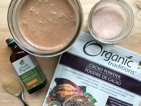 Mesquite-Chocolate Coconut Kefir