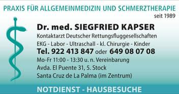 Dr. med. Siegfried Kapser