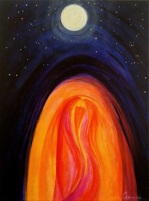Liebe und Mond