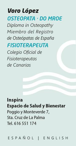 Voro López - Osteopatía