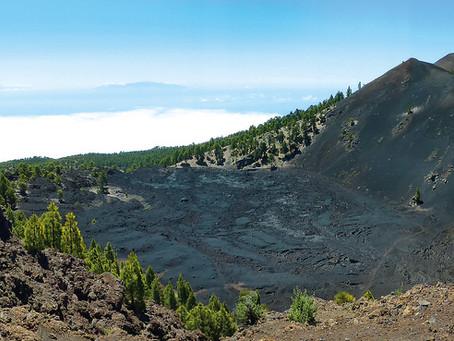 Geologischer überblick (II):  Wie wurde La Palma geboren? - Die Caldera de Taburiente und Cumbre Vie