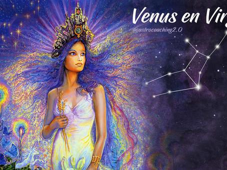 Venus en Virgo: El amor que quiere manifestarse en tu vida