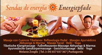 Sendas de Energia | Energiepfade