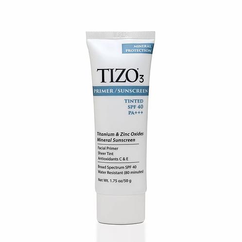 Tizo3® Primer/Sunscreen Mineral SPF 40 Tinted