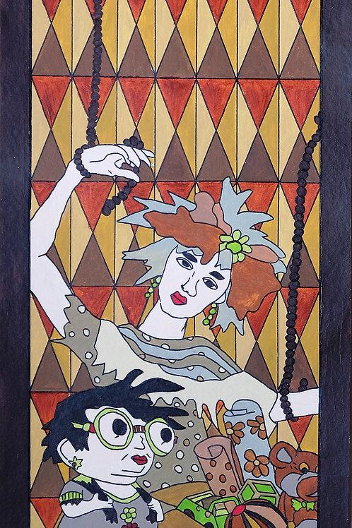 """Kerstin Heinze-Grohmann """"Wir sind alle Marionetten"""""""