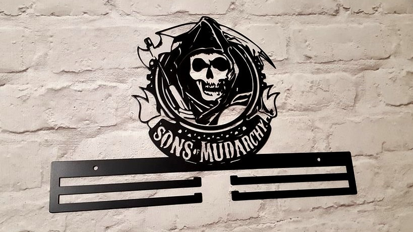 Sons of Mudarchy medal display Black edition