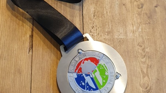 Trifecta holder medal