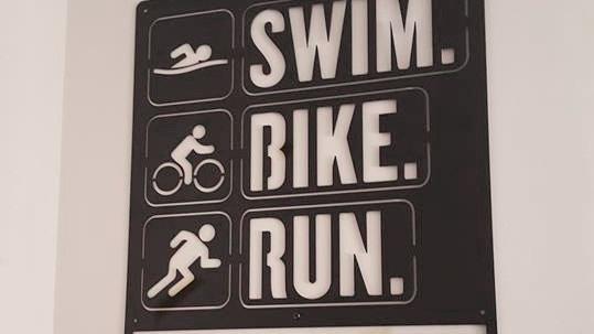 Swim. Bike. Run