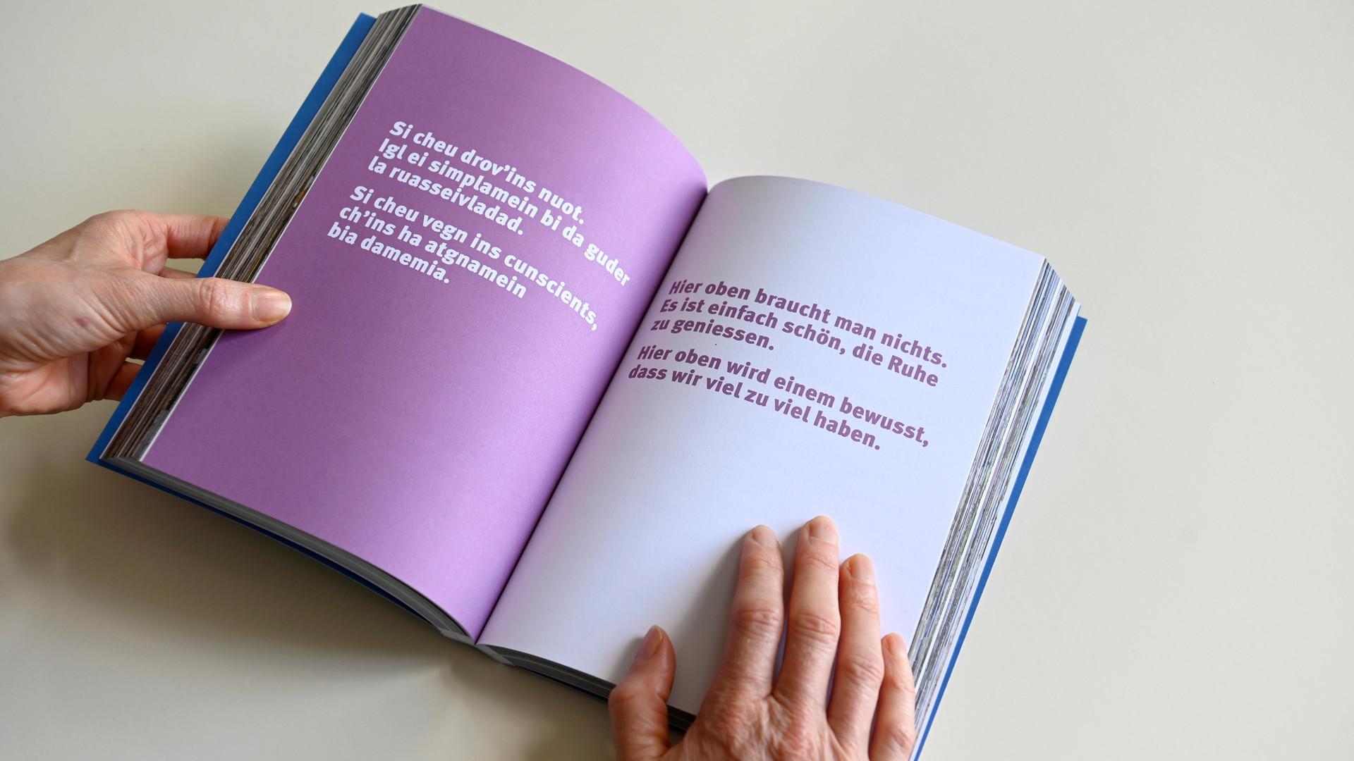 Buch ENTA MEDEL - Textseite 1