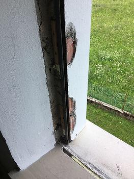 toglimento di una finestra