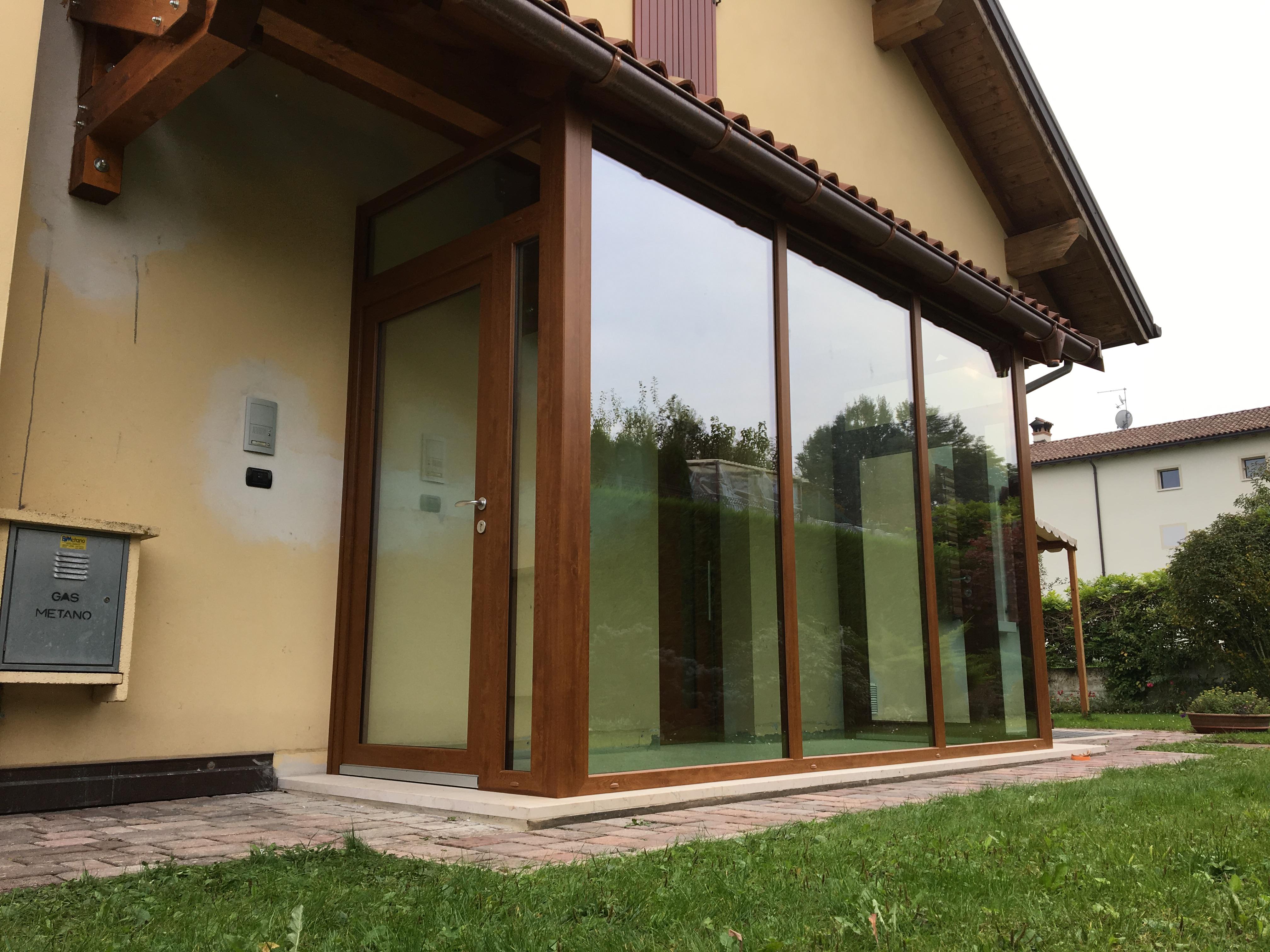 Veranda in PVC