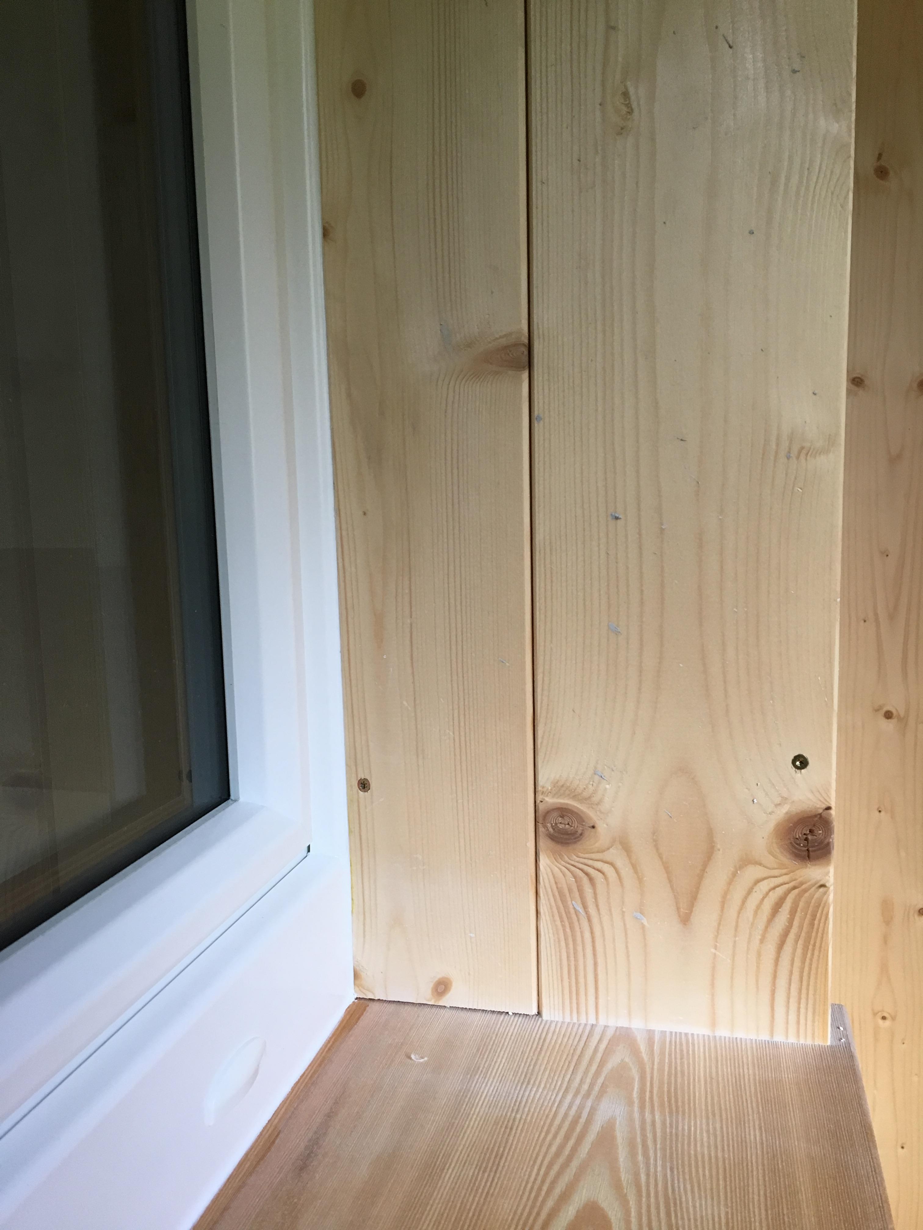 Dettaglio PVC-legno