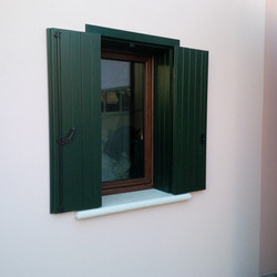 Finestra in PVC con persiane