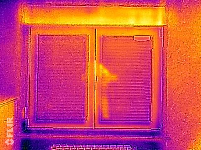 La termografia del cassonetto