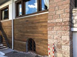 Rivestimento in legno a Cortina