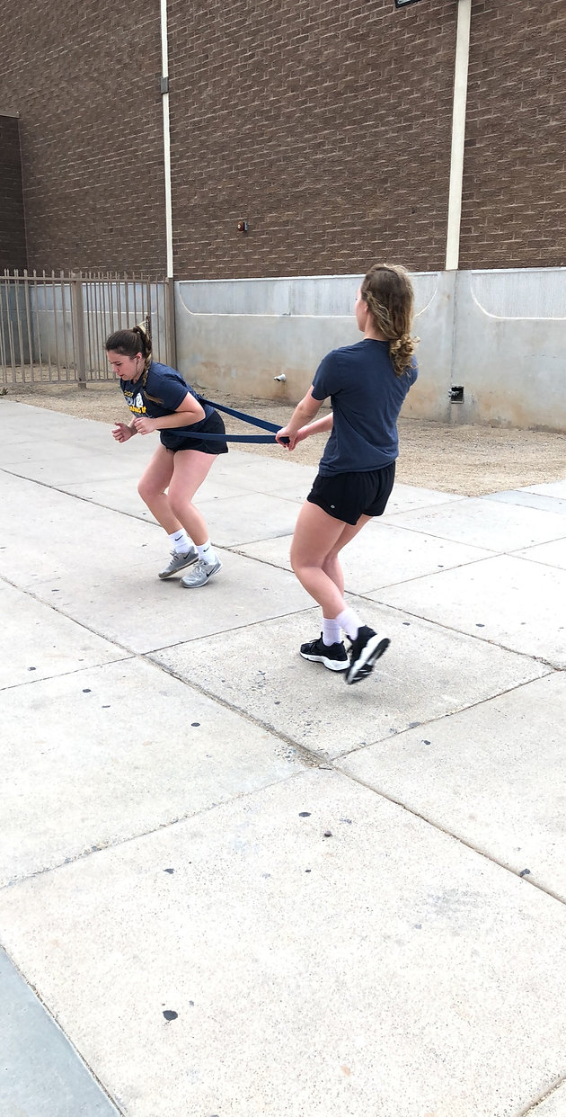 Pre-season strength and conditioning training