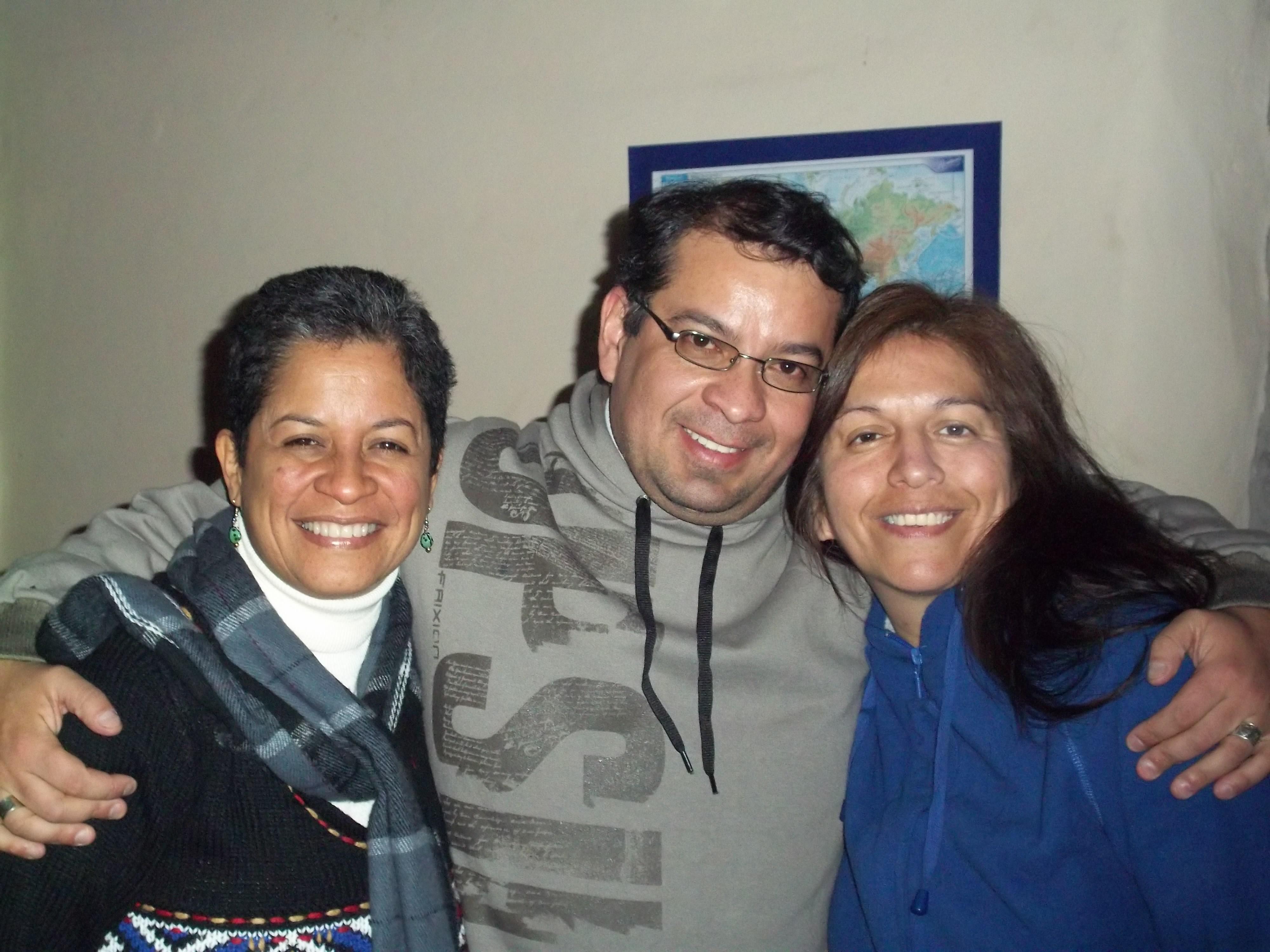 Greisy Rodrigues y Nayade Figueroa