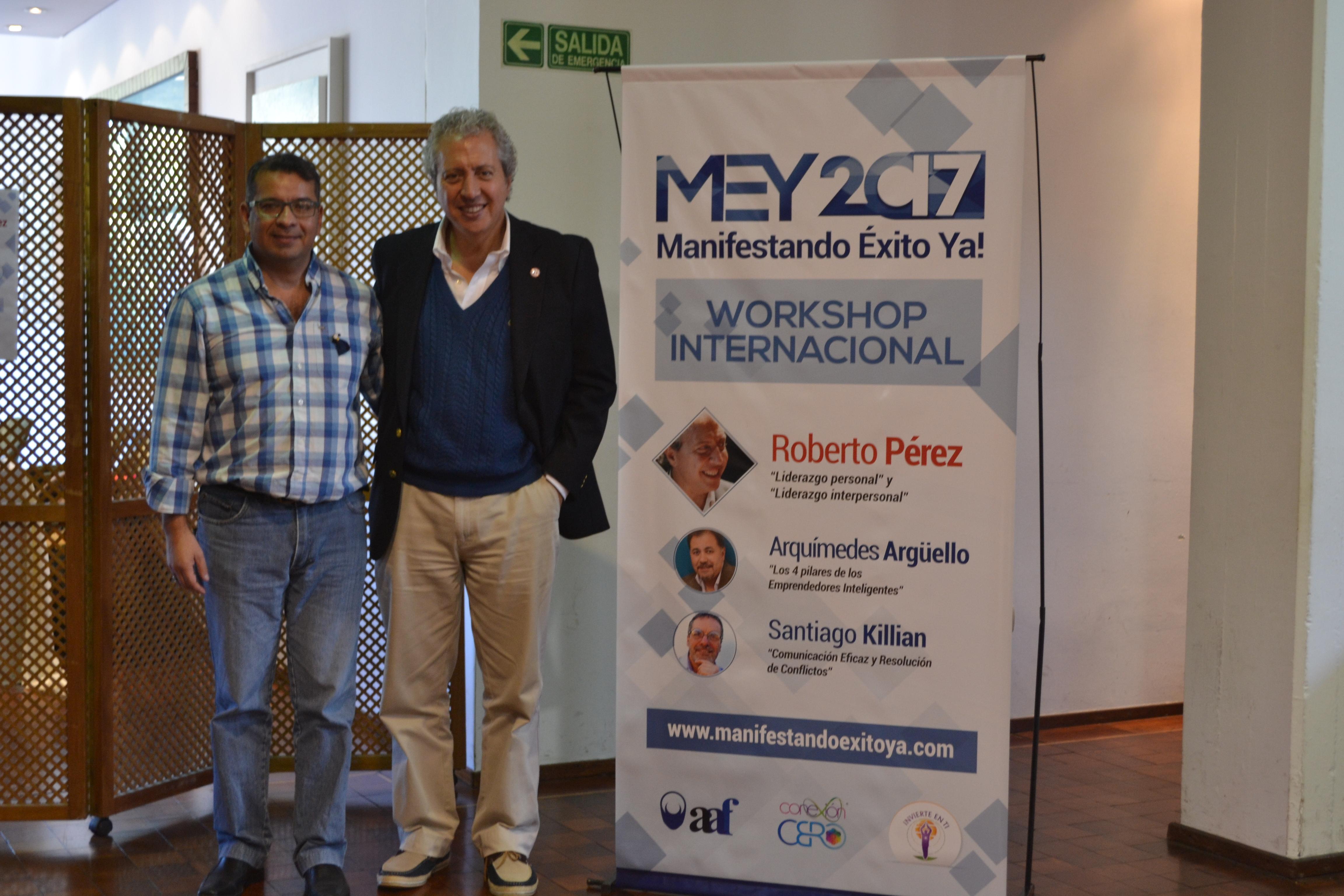Roberto Perez en MEY