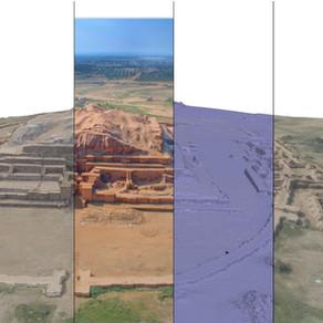 Photogrammetry of Choghazanbil