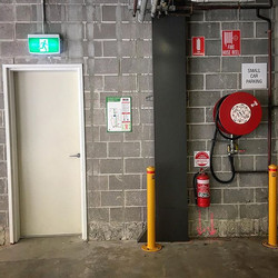 Its important to not only know where all our first attack fire fighting equipment and emergency exit