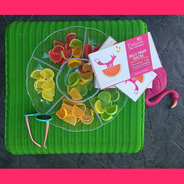 Love! #delisun #gourmet #jellyfruitslices #fruitslices #candy #sweets #candies #snacks #confectioner