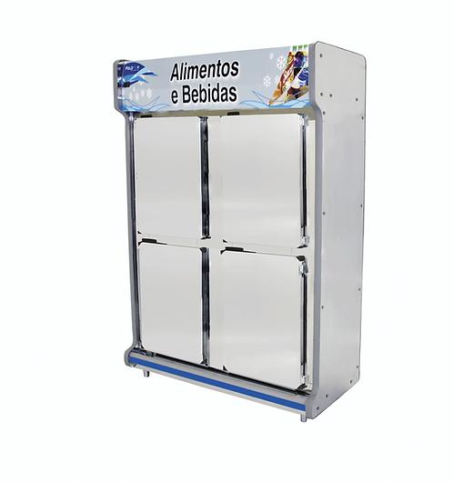 Refrigerador Comercial 4 Portas 4003