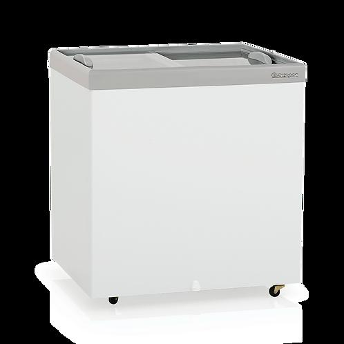 Conservador / Refrigerador Plano Vidro Reto Deslizante - Dupla Ação GHDE-220