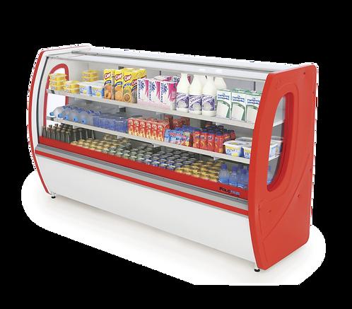 Balcão Refrigerado Premium 3104 Vidro Semi-Curvo