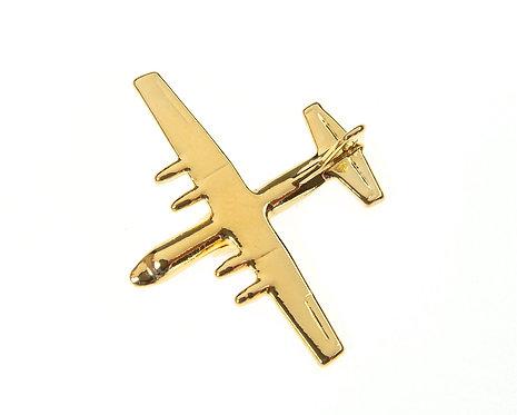 C130 Hercules 'Fat Albert' Gold Plated Tie / Lapel Pin