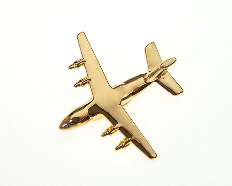 Antonov An70 Gold Plated Tie / Lapel Pin