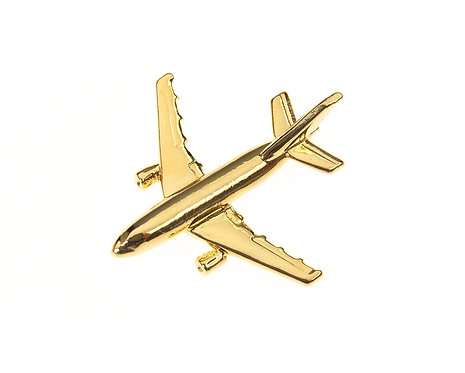 Airbus A310 Gold Plated Tie / Lapel Pin