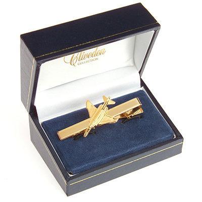 F4 Phantom II Tie Bar / Clip Gold Plated