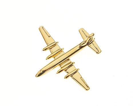 Britannia Gold Plated Tie / Lapel Pin