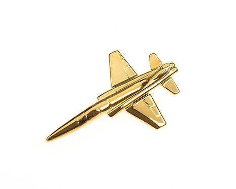T38 Talon Gold Plated Tie / Lapel Pin