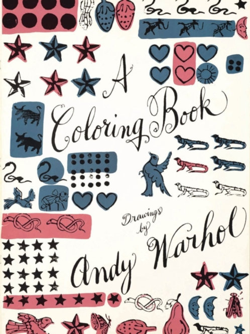 Coloring Book:Drawings by Andy Warhol