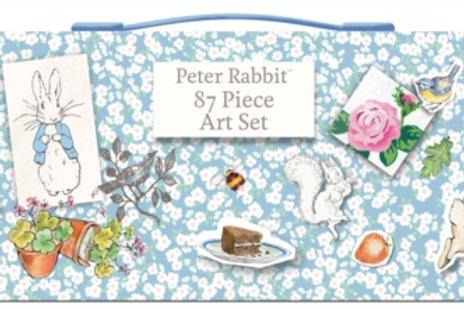 87 Piece Art Set  Peter Rabbit