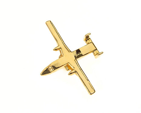 Shorts Sherpa Gold Plated Tie / Lapel Pin
