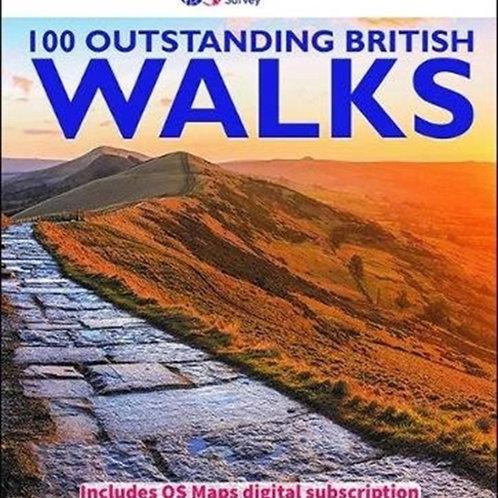 100 Outstanding British walks