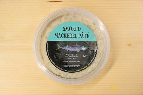 SMOKED MACKEREL PATE'  (120gr)