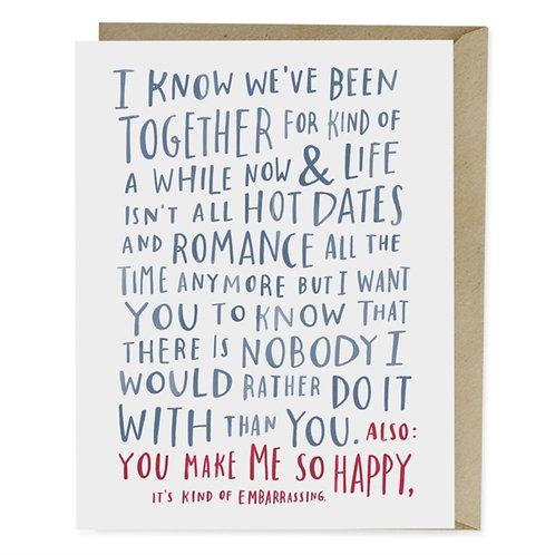 Emily McDowell & Friends Awkward Love Card