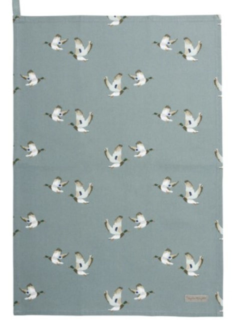 Sophie Allport Ducks Tea towel
