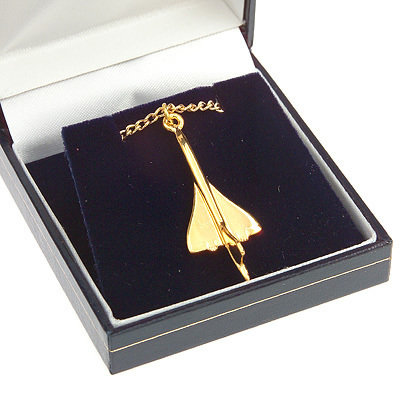 Concorde Pendant Gold Plated