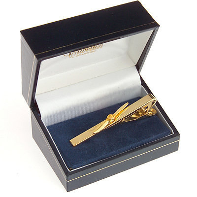 Propeller Tie Bar / Clip Gold Plated