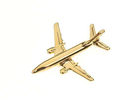 Boeing 737-300 Gold Plated Tie / Lapel Pin