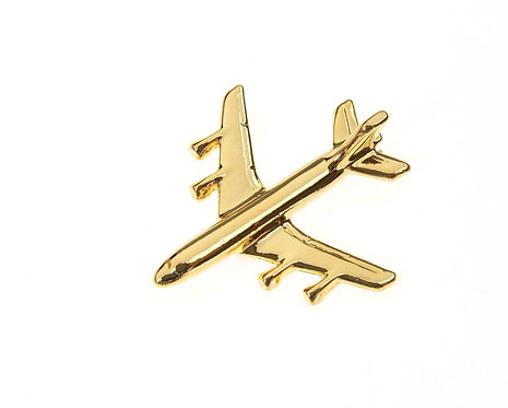 Boeing 707 Gold Plated Tie / Lapel Pin