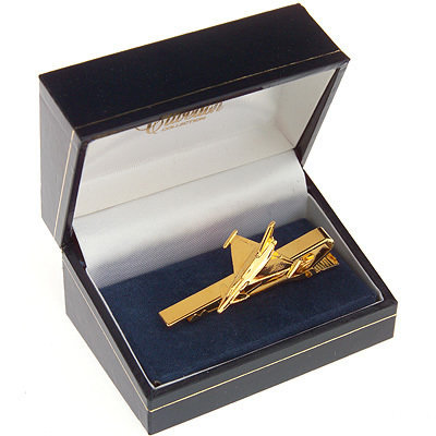 Eurofighter Typhoon Tie Bar / Clip Gold Plated