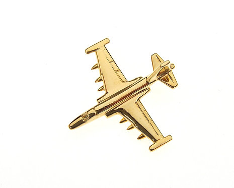 Sukhoi Su25 Frogfoot Gold Plated Tie / Lapel Pin